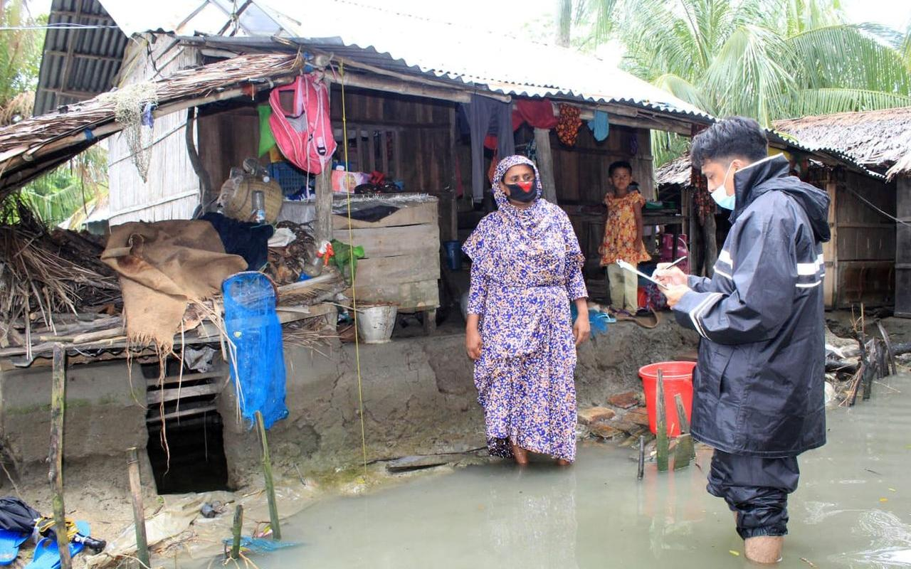 Our partner organisation determines the needs in order to provide emergency aid efficiently (pic: AWO International)