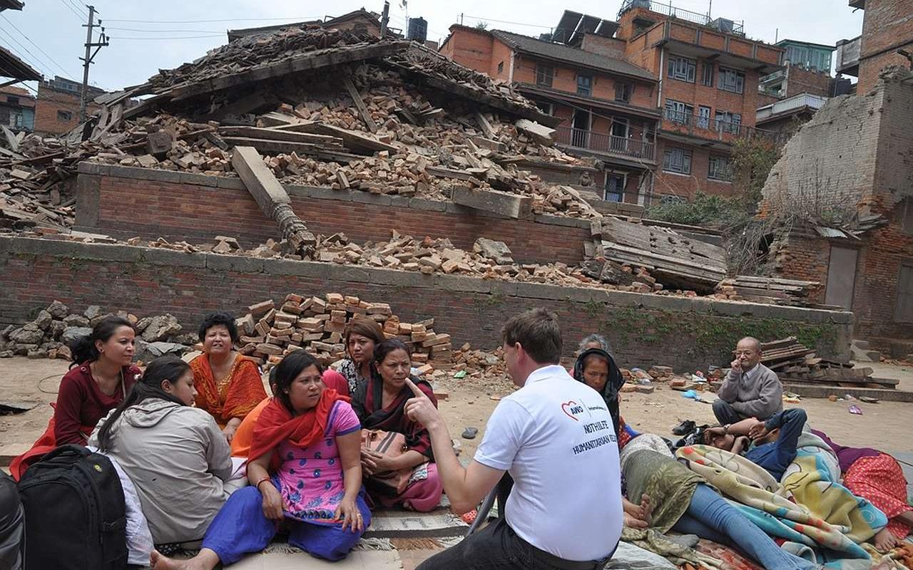 6 Jahre Nach Dem Grossen Erdbeben In Nepal Das Risiko Bleibt Awo International E V