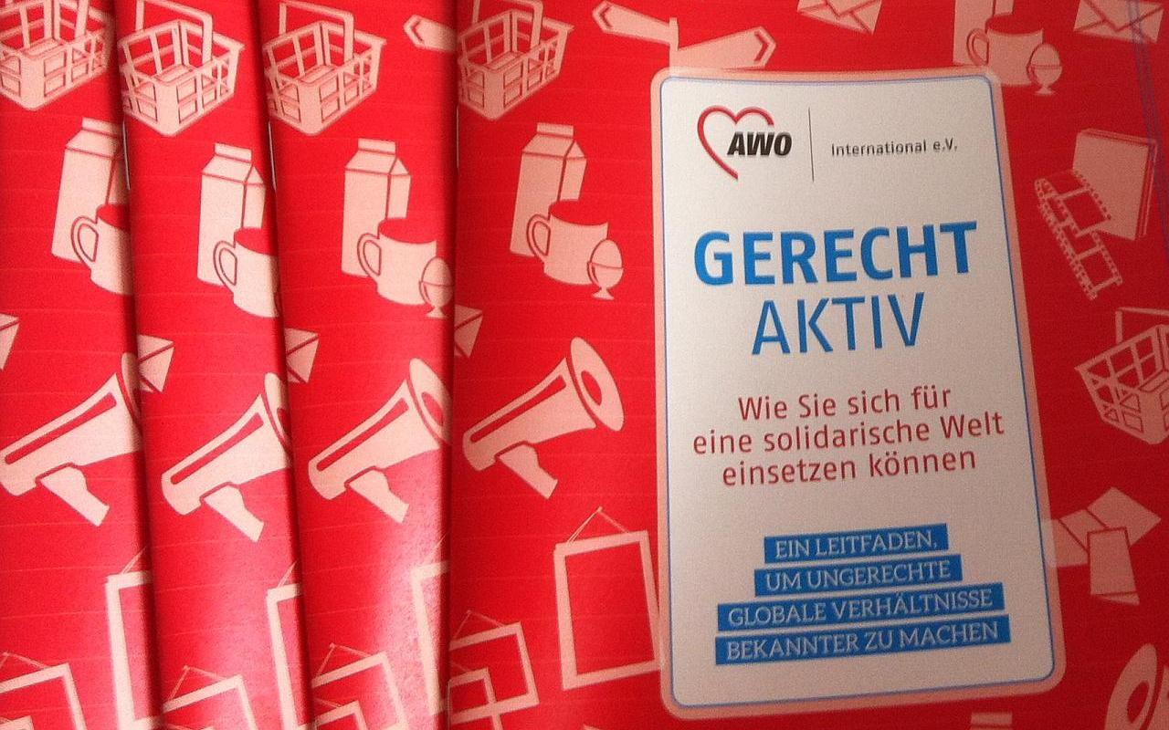 "AWO International Aktionsleitfaden ""Gerecht Aktiv"""