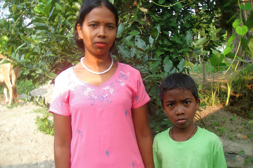 Sautini Sardar from Nepal was a victim of forced labour. (Photo: AWO International)