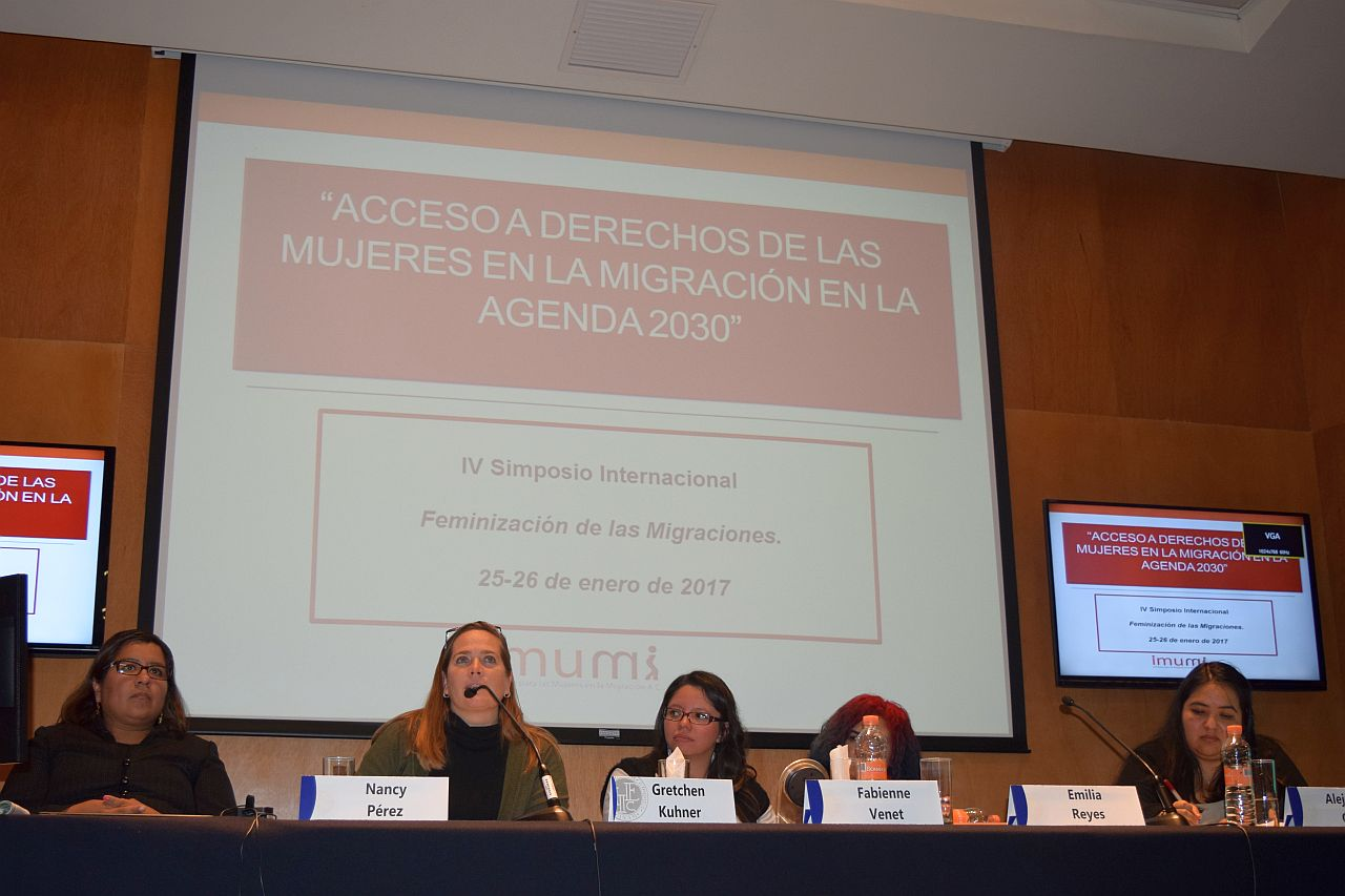 Internationales Symposium zur Rolle der Frauen in der Migration